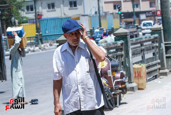 طقس شديد الحرارة علي القاهرة