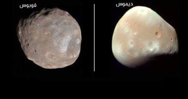 اقمار المريخ