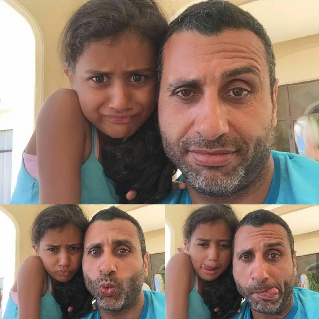 مجدى أبو المجد و أبنته