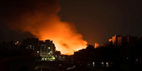 حريق-بحى-فى-دكا