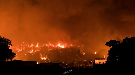 حريق-فى-دكا