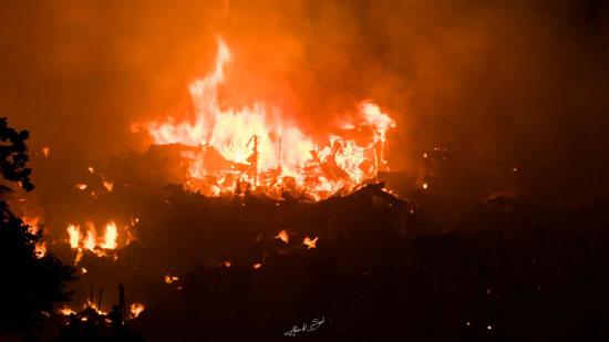 حريق-فى-حى-ببنجلاديش
