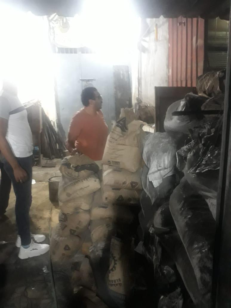 وقف أعمال بناء وهدم بدون ترخيص (1)