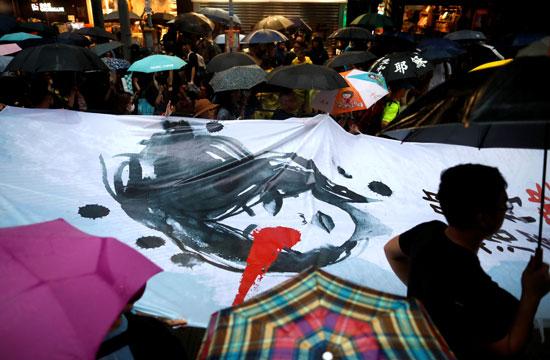 الاحتجاجات-فى-هونج-كونج