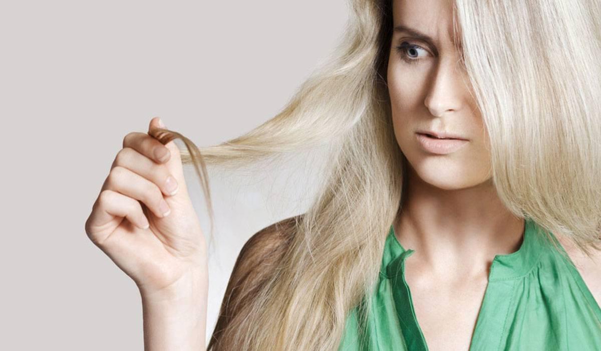 الشعر التالف
