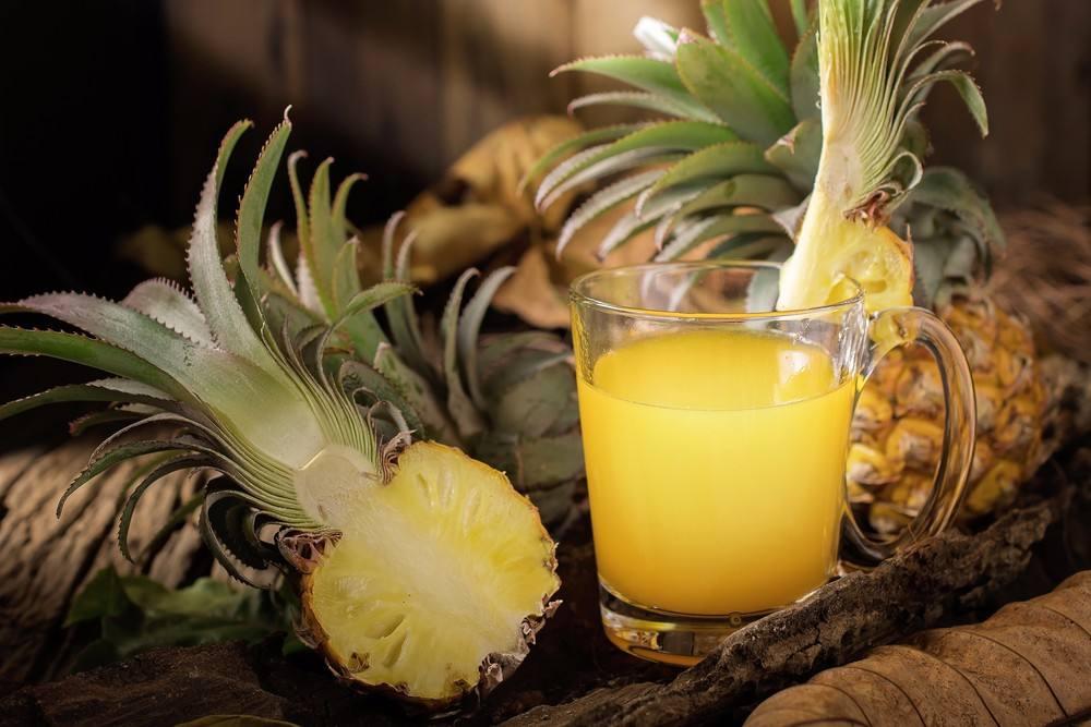 وصفة عصير الأناناس