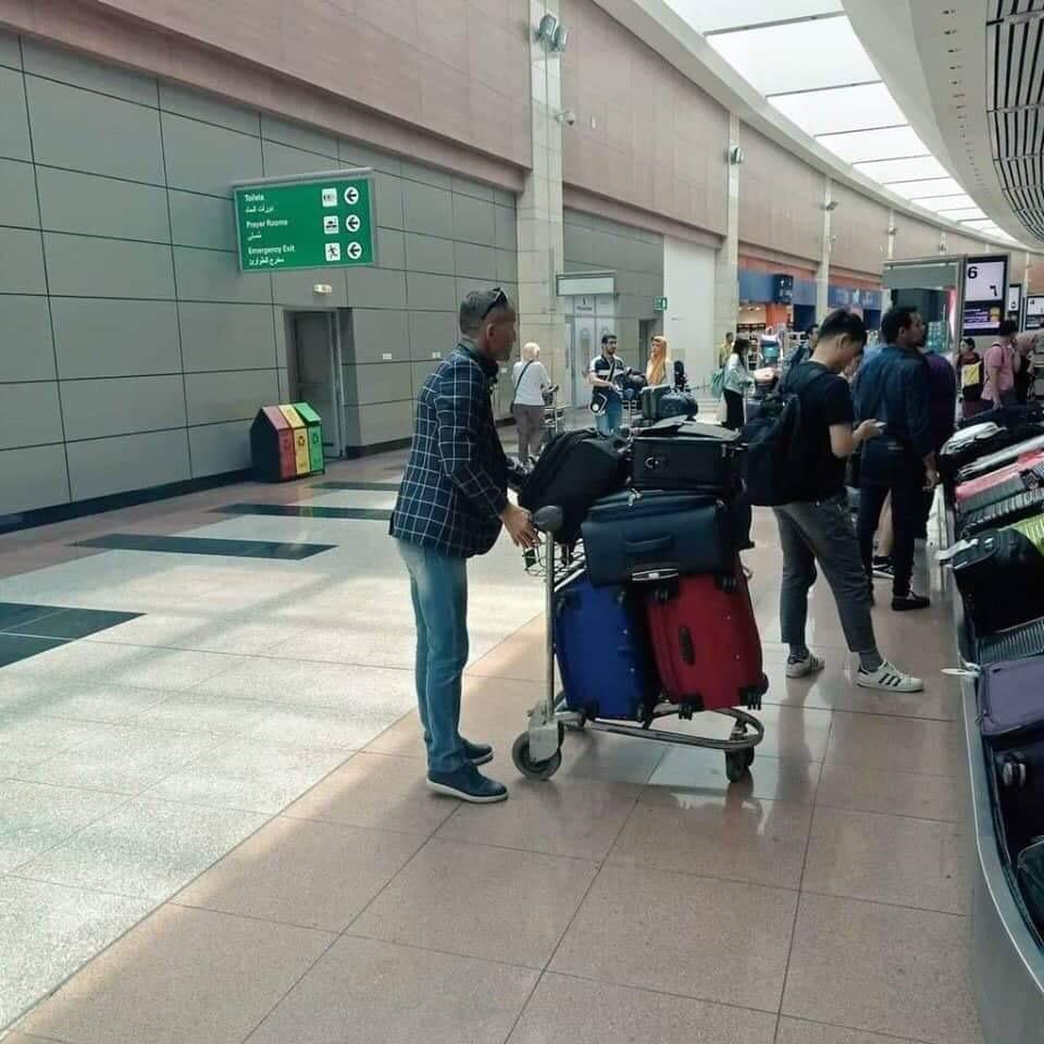 وصول ميتشو للقاهرة