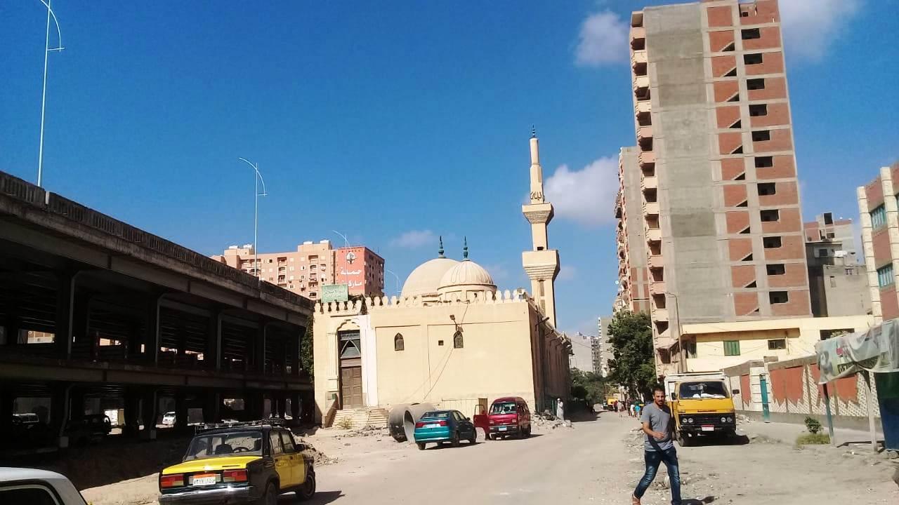 ضريح ومسجد ابا الإخلاص فى الإسكندرية محور المحمودية