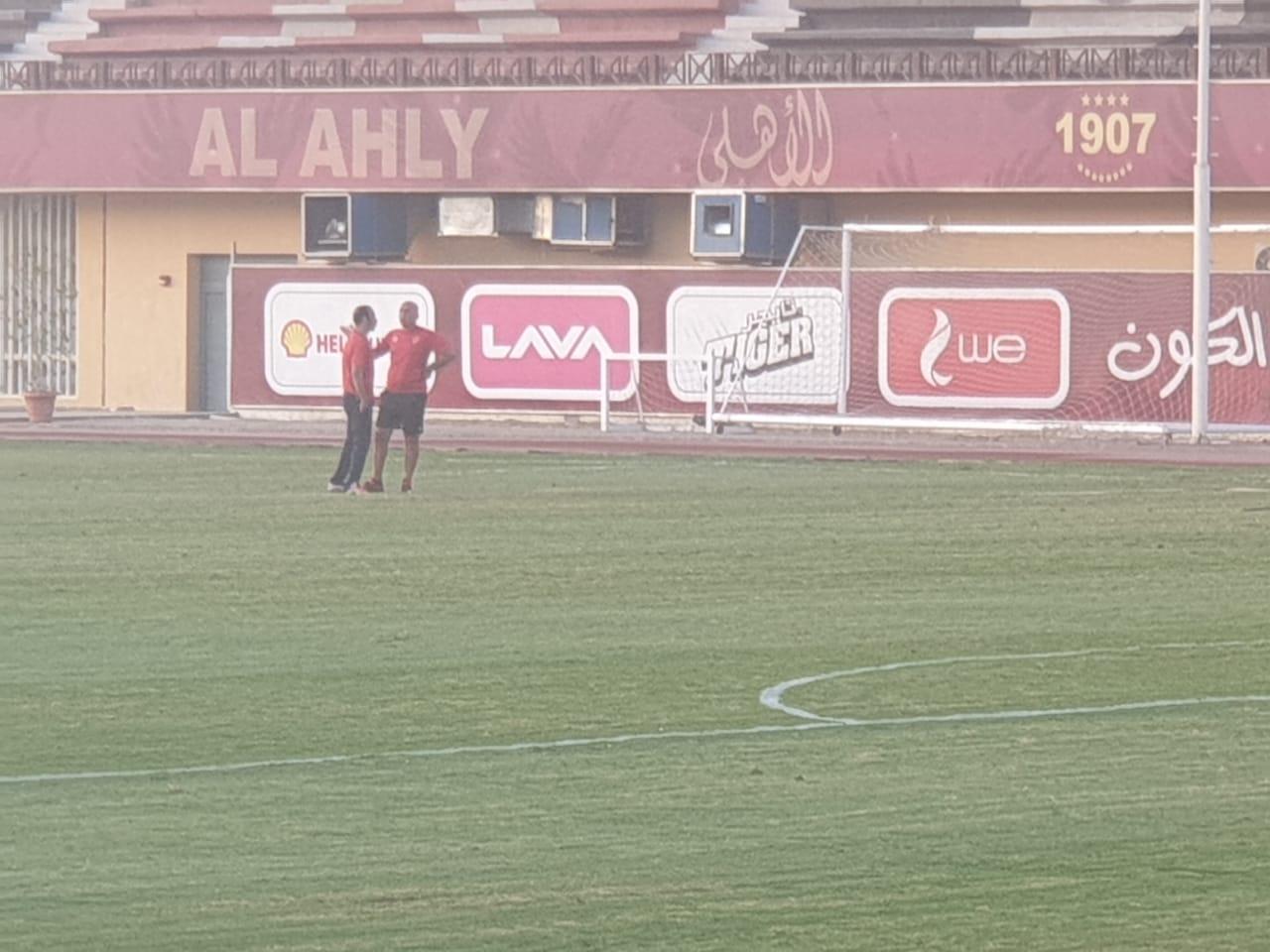 محمد يوسف مع سيد عبد الحفيظ