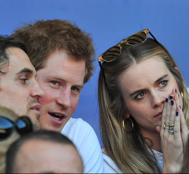 كريسيدا صديقة الأمير هارى سابقا