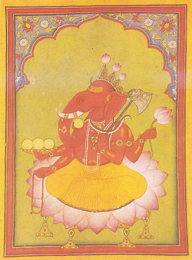 الإله غانيشا