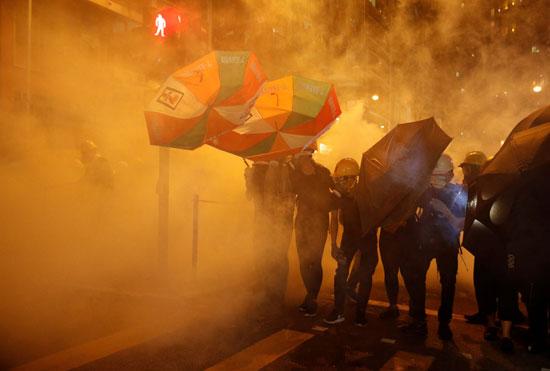 المظاهرات-فى-هونج-كونج