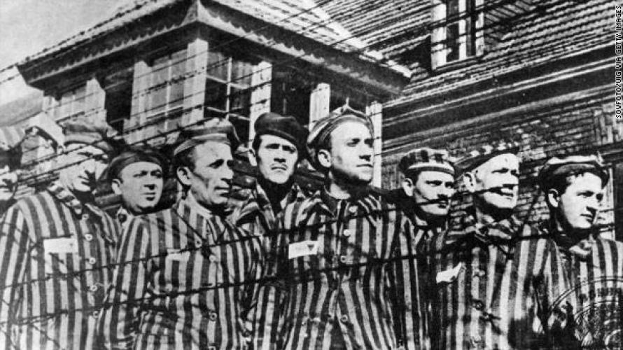 عدد من المعتقلين بسجون الهولوكوست