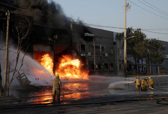 حريق-مستودع-كيماويات