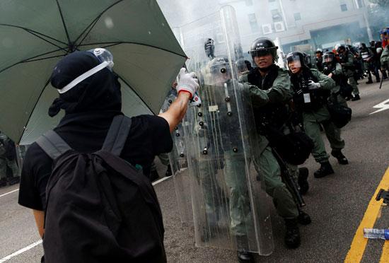 مظاهرات-هونج-كونج