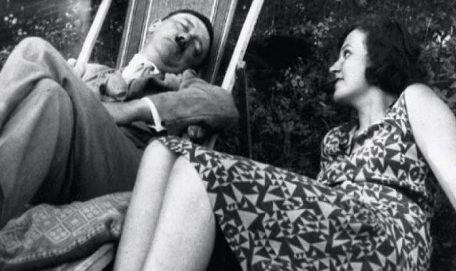 هتلر و زوجته ايفا براون