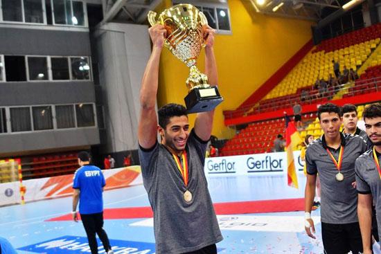 منتخب مصر بطل كأس العالم لكرة اليد (2)