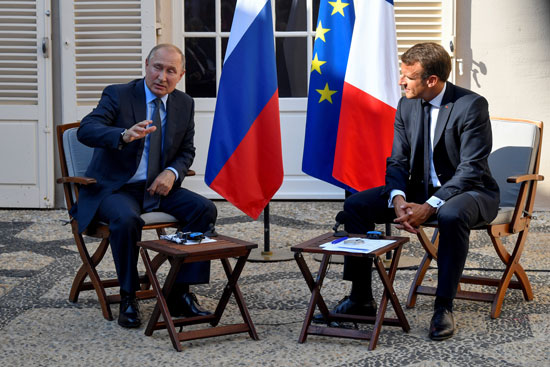 ماكرون-و-بوتين