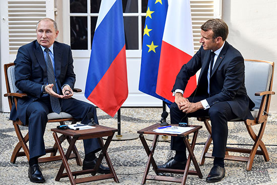 الرئيس-الفرنسى-والرئيس-الروسى