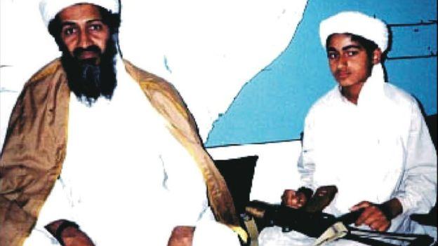 نجل أسامة بن لادن