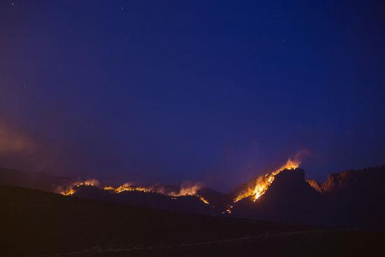 سلسلة الحرائق