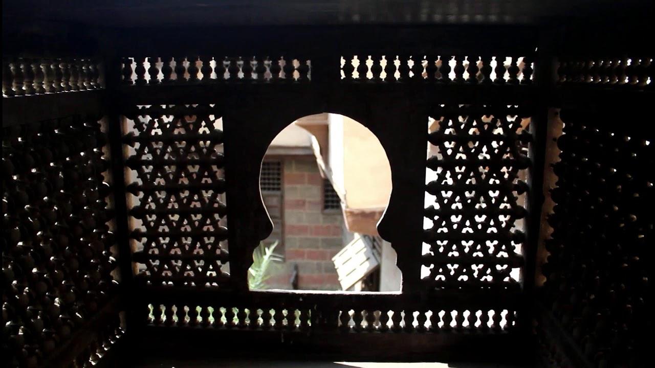 إحدى نوافذ منزل جمال الدين الدهبى