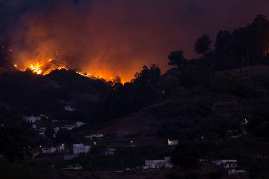 النيران ترتفع