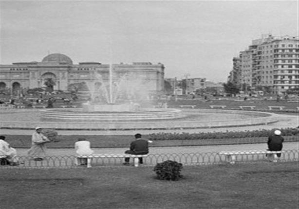 ميدان التحرير عام 1900