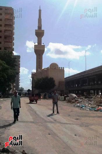 ضريح ابو الإخلاص الزرقانى بعد نقله لميدان أبو العباس بالإسكندرية (26)
