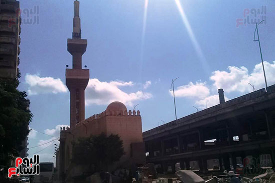 ضريح ابو الإخلاص الزرقانى بعد نقله لميدان أبو العباس بالإسكندرية (23)