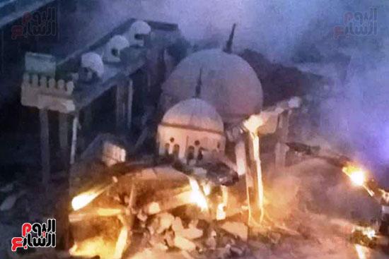 ضريح ابو الإخلاص الزرقانى بعد نقله لميدان أبو العباس بالإسكندرية (6)