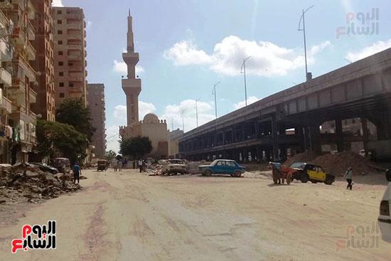 ضريح ابو الإخلاص الزرقانى بعد نقله لميدان أبو العباس بالإسكندرية (30)
