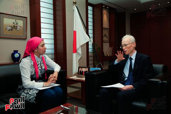 السفير اليابانى بالقاهرة فى حواره مع اليوم السابع (58)