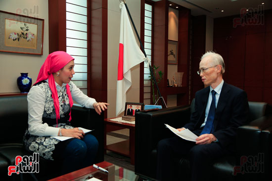 السفير اليابانى بالقاهرة فى حواره مع اليوم السابع (54)