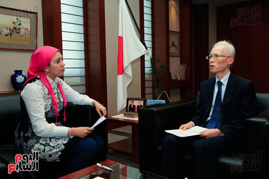 السفير اليابانى بالقاهرة فى حواره مع اليوم السابع (63)