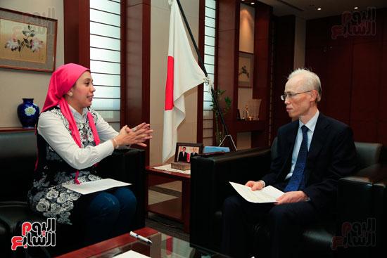 السفير اليابانى بالقاهرة فى حواره مع اليوم السابع (56)