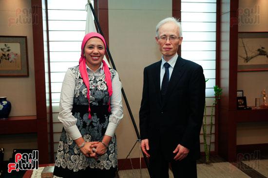 السفير اليابانى بالقاهرة فى حواره مع اليوم السابع (31)