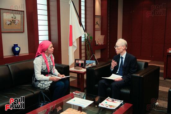 السفير اليابانى بالقاهرة فى حواره مع اليوم السابع (41)
