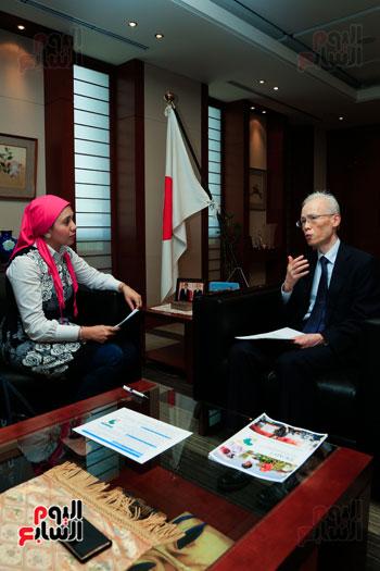 السفير اليابانى بالقاهرة فى حواره مع اليوم السابع (65)