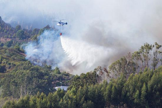 استخدام الطائرات لاطفاء الحرائق