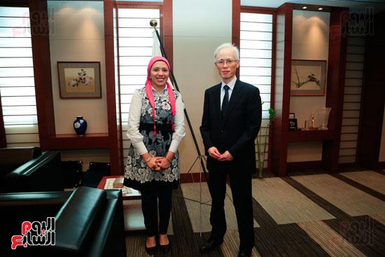 السفير اليابانى بالقاهرة فى حواره مع اليوم السابع (32)