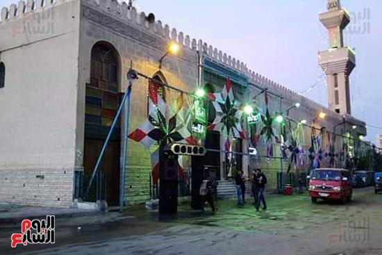ضريح ابو الإخلاص الزرقانى بعد نقله لميدان أبو العباس بالإسكندرية (1)