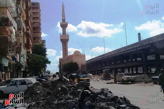 ضريح ابو الإخلاص الزرقانى بعد نقله لميدان أبو العباس بالإسكندرية (24)
