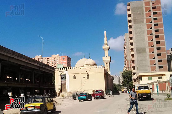 ضريح ابو الإخلاص الزرقانى بعد نقله لميدان أبو العباس بالإسكندرية (31)