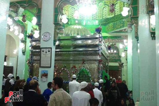 ضريح ابو الإخلاص الزرقانى بعد نقله لميدان أبو العباس بالإسكندرية (8)