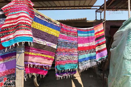 صناعة غزل السجاد اليدوى (2)