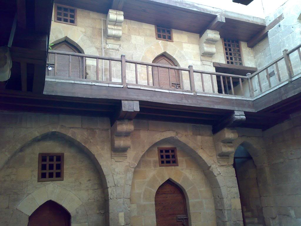 منزل جمال الدين الدهبى من الداخل