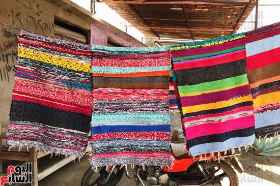 صناعة غزل السجاد اليدوى (3)