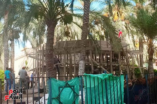 ضريح ابو الإخلاص الزرقانى بعد نقله لميدان أبو العباس بالإسكندرية (15)