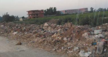 انتشار القمامة بالمنطقة